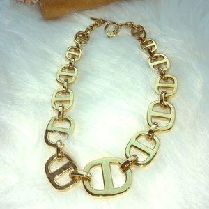 Michael Kors gold link necklace
